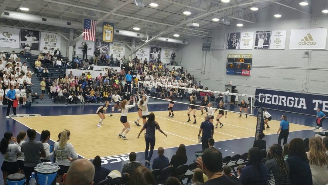 Georgia Tech Women's Volleyball – Inside O'Keefe